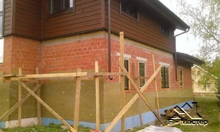 Услуги по утеплению фасада частного дома